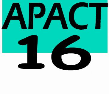 APACT '16logo