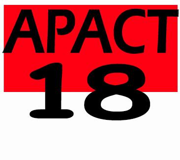 APACT '18logo